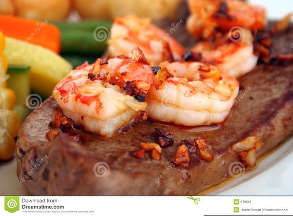 Download this image as: - Surf And Turf PNG