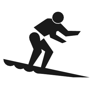 Surfing PNG - 4346