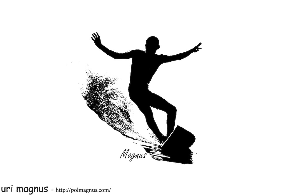 Copyright: uri magnus; Image Size: 4252x2835 / 532.8KB: Contained in  galleries: surfing graphic design. - Surfing HD PNG