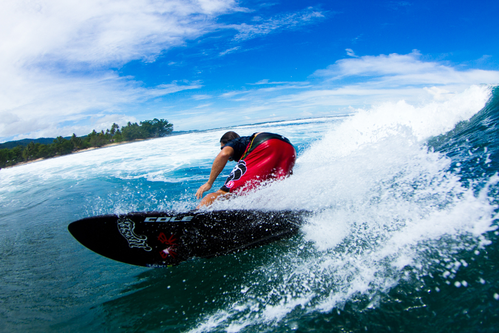 Surfing Papua New Guinea