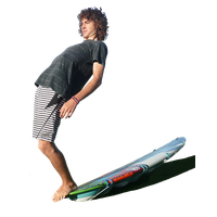 Surfing PNG - 4358
