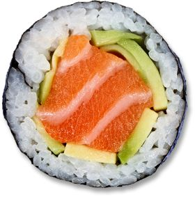 Sushi Roll PNG-PlusPNG.com-280 - Sushi Roll PNG