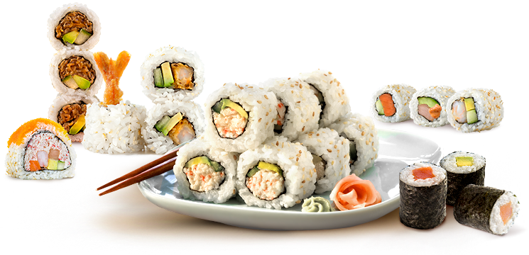 Sushi Roll PNG - 60908