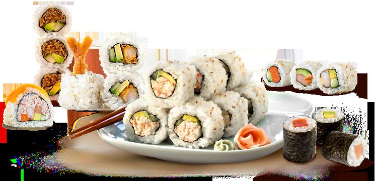 sushi maki - Sushi Roll PNG