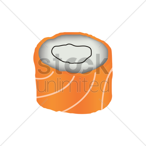 sushi roll vector graphic - Sushi Roll PNG