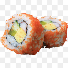 Sushi rolls, Japanese, Sushi, Onigiri PNG Image - Sushi Roll PNG