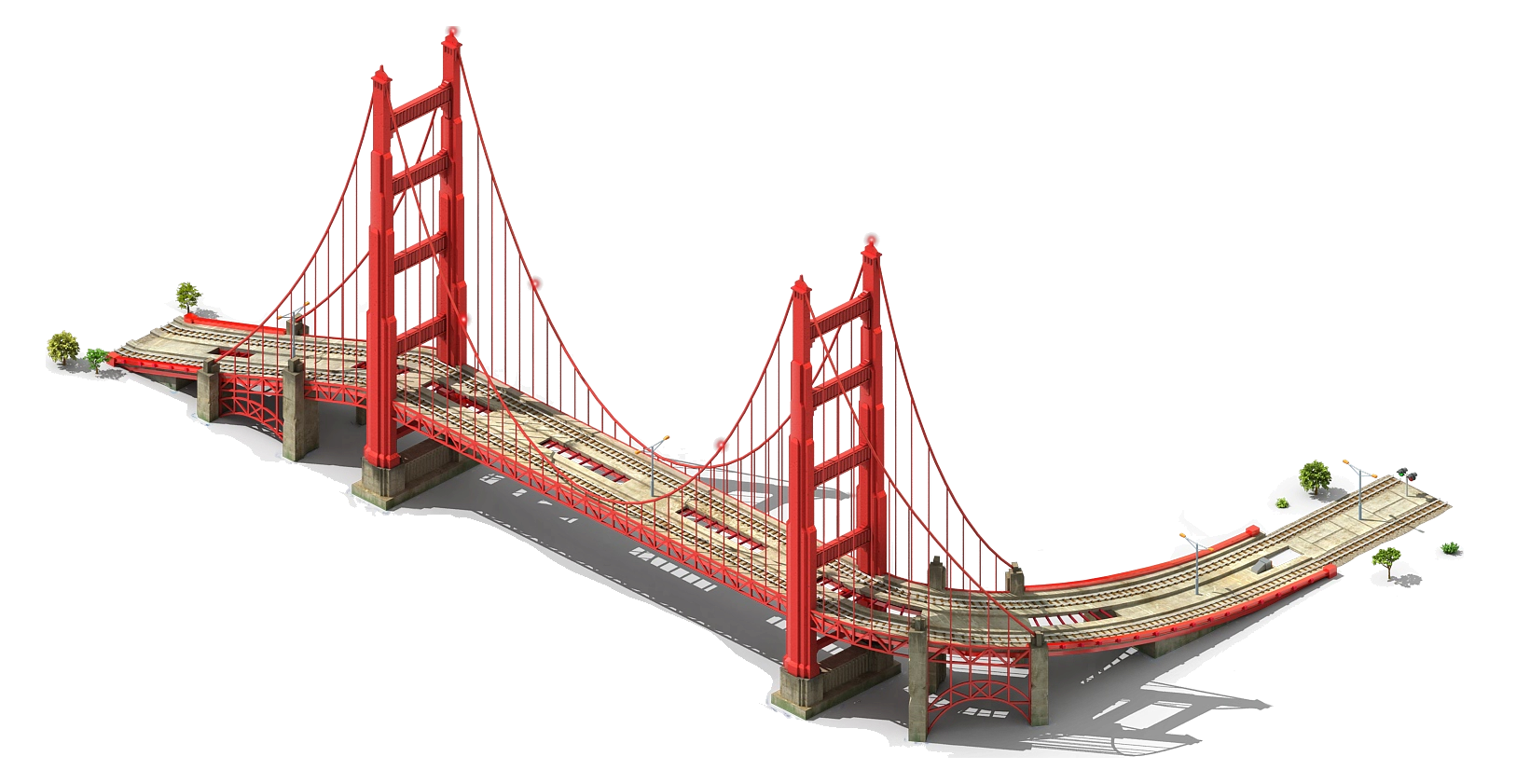 Suspension Bridge PNG - 60932