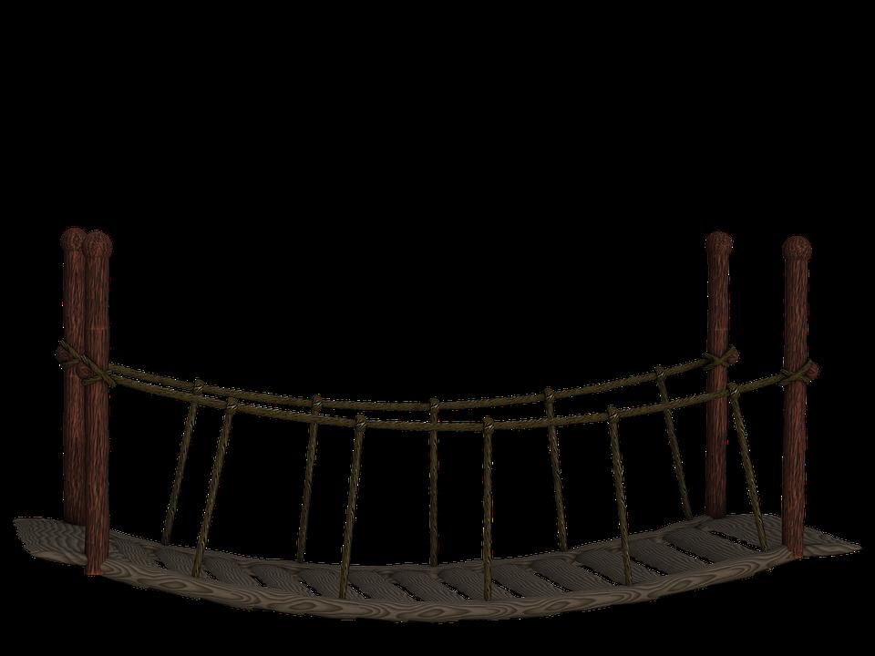 Suspension Bridge PNG - 60923
