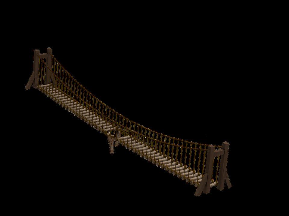 Suspension Bridge PNG - 60931