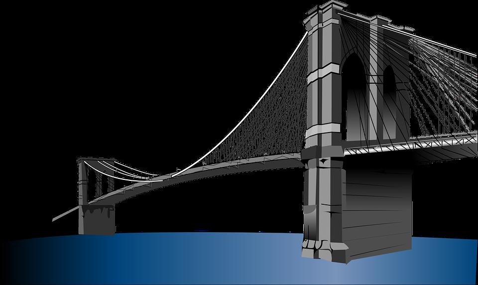 Suspension Bridge PNG - 60927