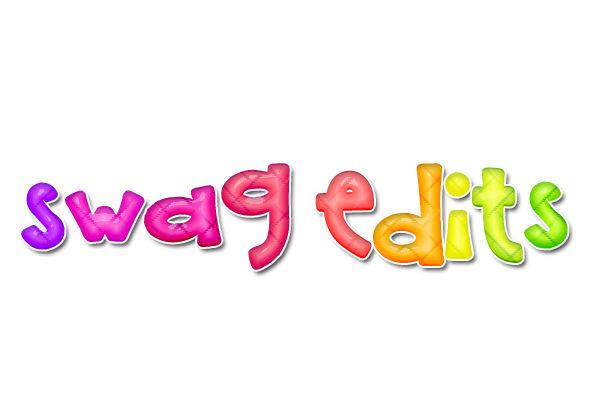 swag edits { text png } by iheartpink-rachel PlusPng.com  - Swag PNG
