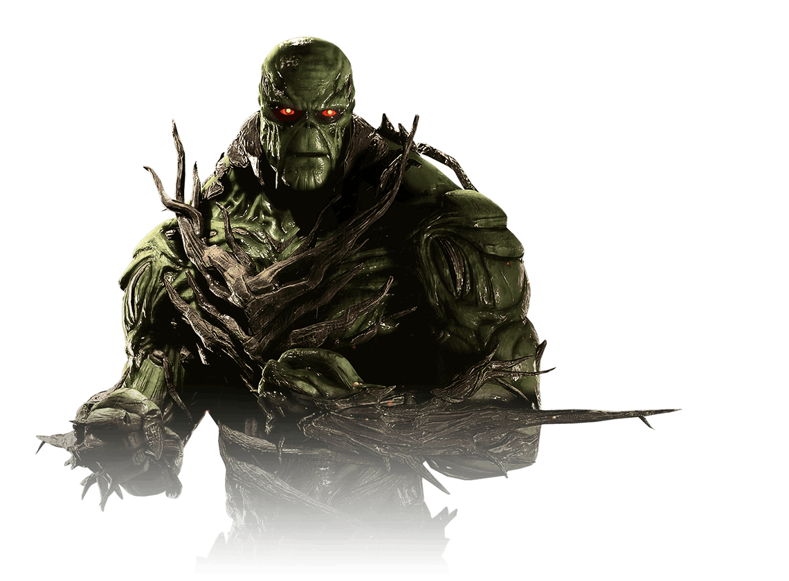 Swamp Thing: https://www.injustice pluspng.com/storage/characters/swamp-thing /portrait.png - Thing PNG