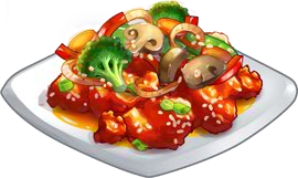 File:Recipe-Sweet and Sour Chicken.png - Sweet And Sour PNG