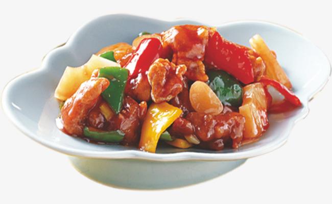 Sweet and Sour Pork, Tenderloin, Green Pepper, Sweet And Sour Free PNG Image - Sweet And Sour PNG