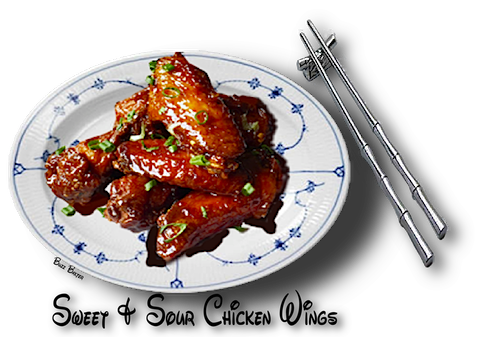 SWEET u0026 SOUR CHICKEN WINGS - Sweet And Sour PNG