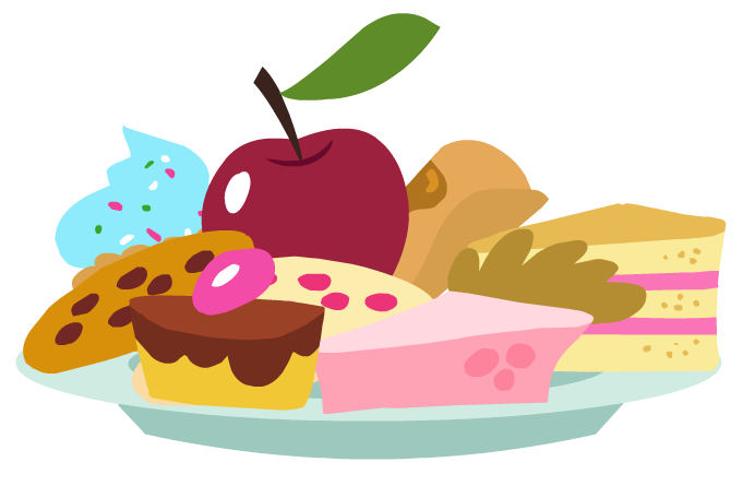 Canterlot Castle sweets.png - Sweets PNG