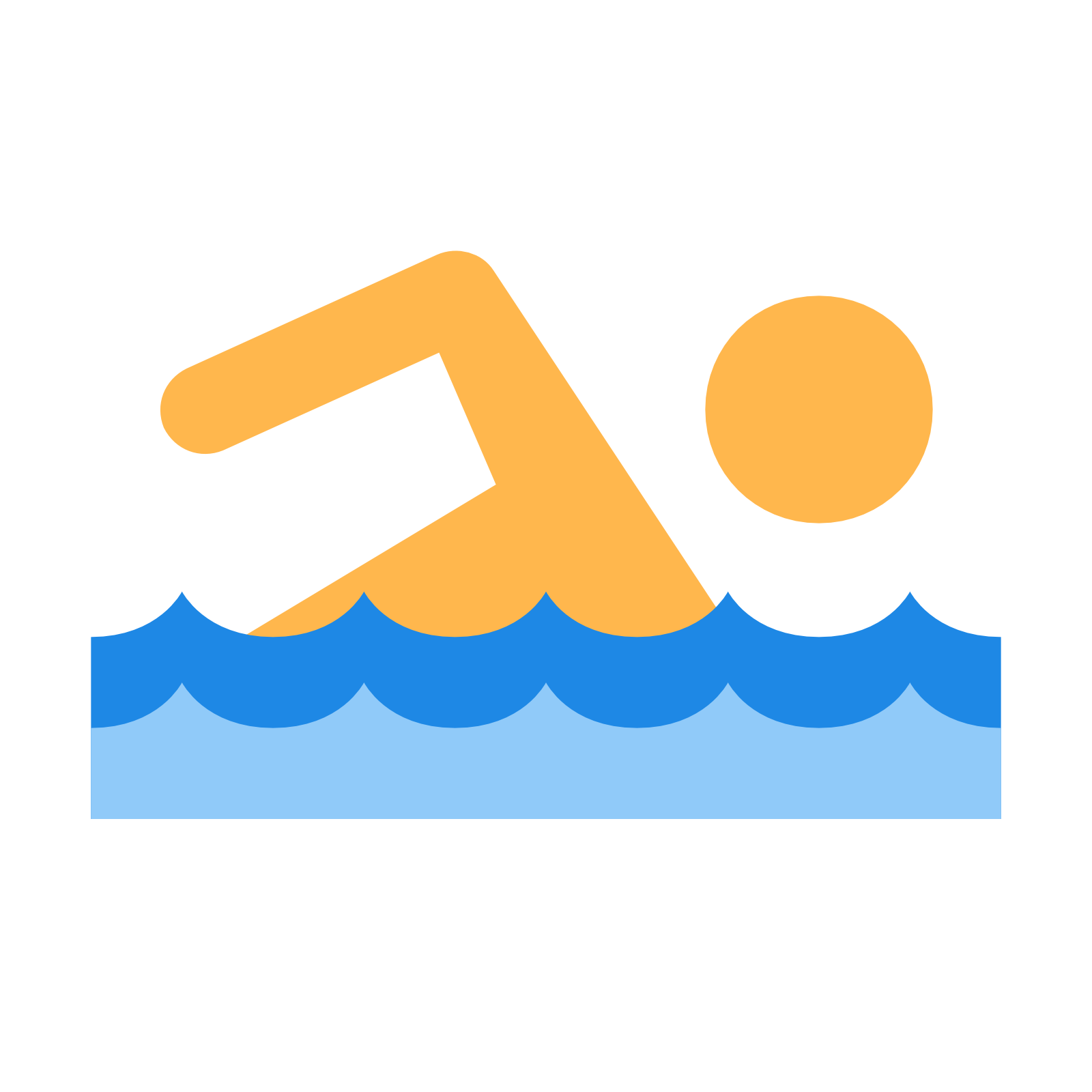 Swimming PNG - 5912