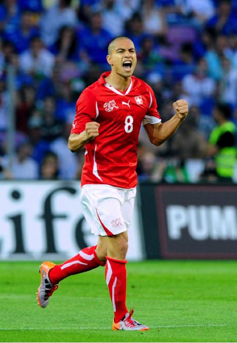Switzerland: Gokhan Inler - Swiss Football Team PNG