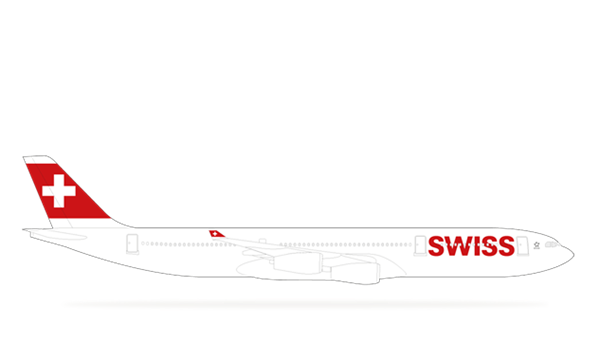 Airbus A340-300 - Swiss International Air Lines PNG