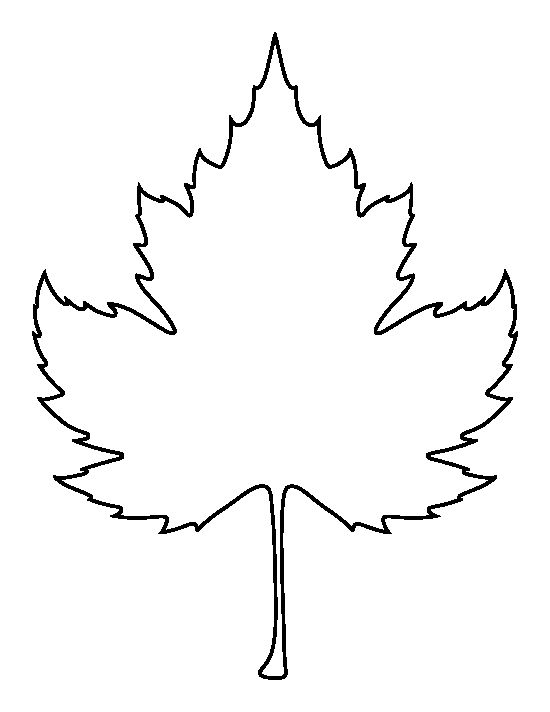 Sycamore leaf pattern. Use the printable outline for crafts, creating  stencils, scrapbooking, - Sycamore Tree Leaf PNG