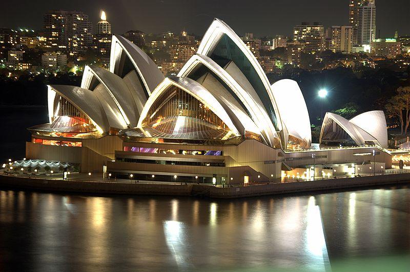 800px-Sydney Opera House Night.png - Sydney PNG