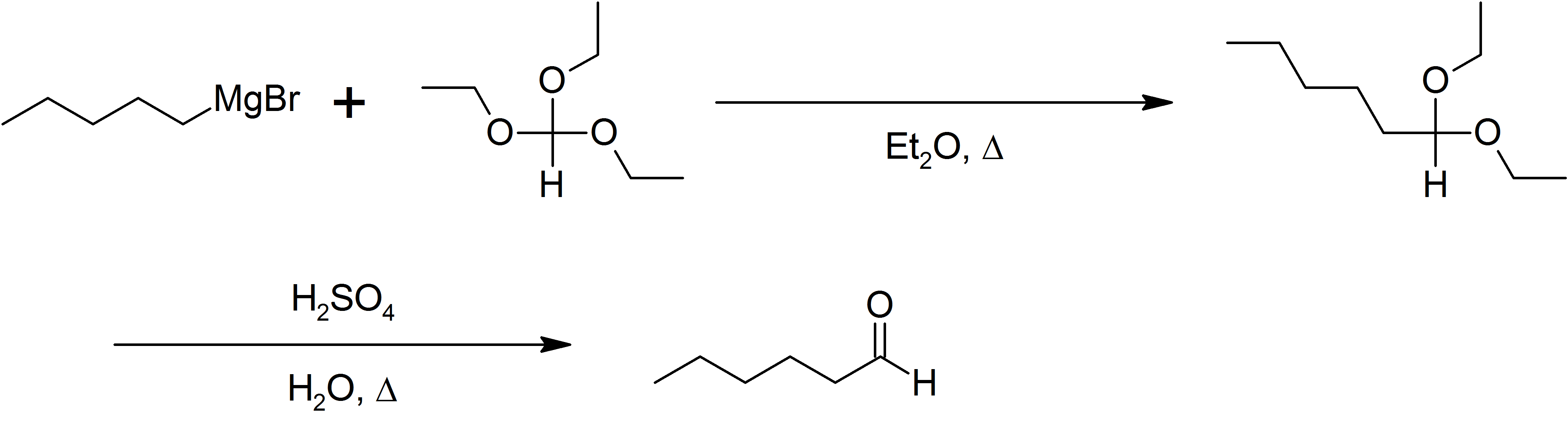 File:Bodroux-Chichibabin aldehyde synthesis of n-hexaldehyde.png - Synthesize PNG