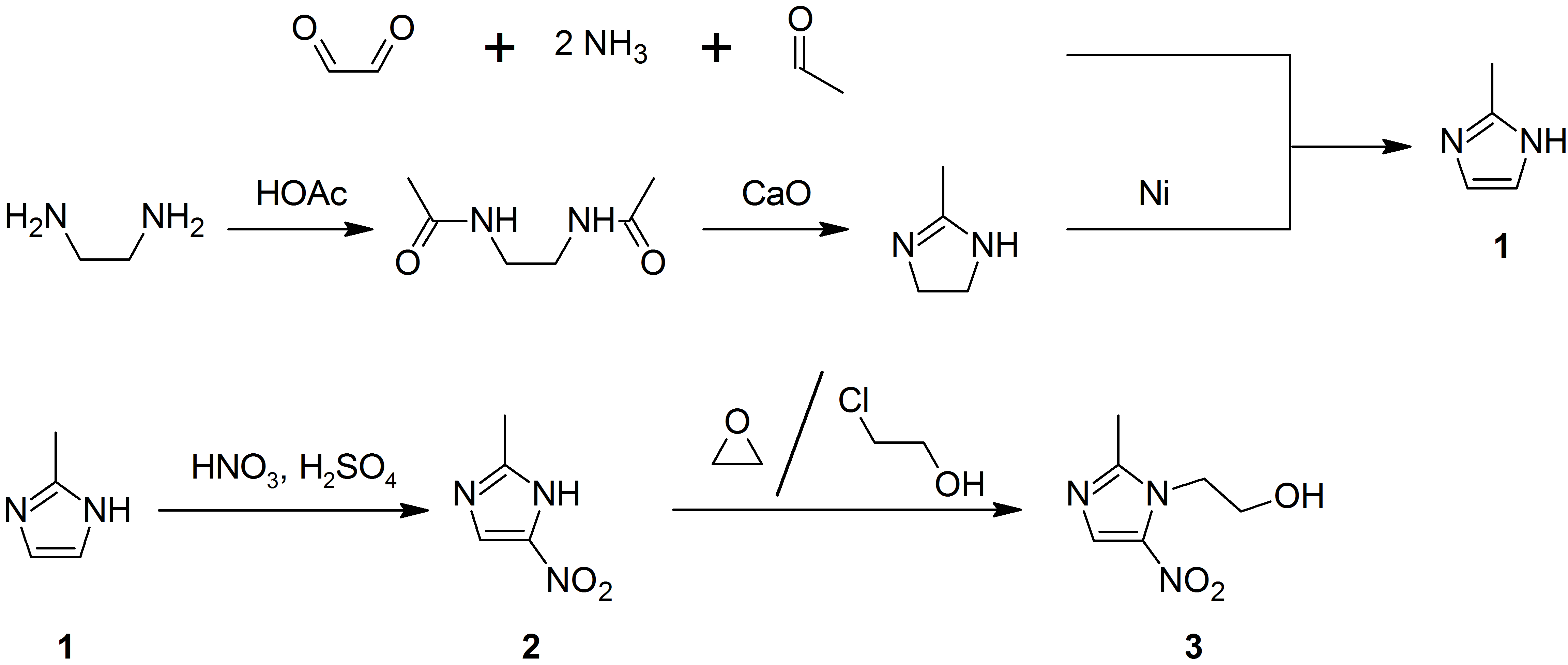 File:Synthesis of metronidazole.png - Synthesize PNG