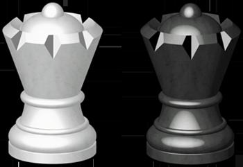 Hetman (zwany też królową) jest obecnie najmocniejszą figurą na szachownicy.  Strata Hetmana często równa się z porażką w grze. Bierka o której mowa  przeszła PlusPng.com  - Szachy Figury PNG