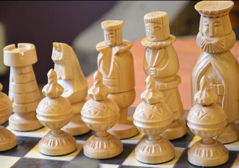 Ręcznie Rzeźbione Figury Szachowe. Szachy Ręcznie Rzeźbione - Szachy Figury PNG