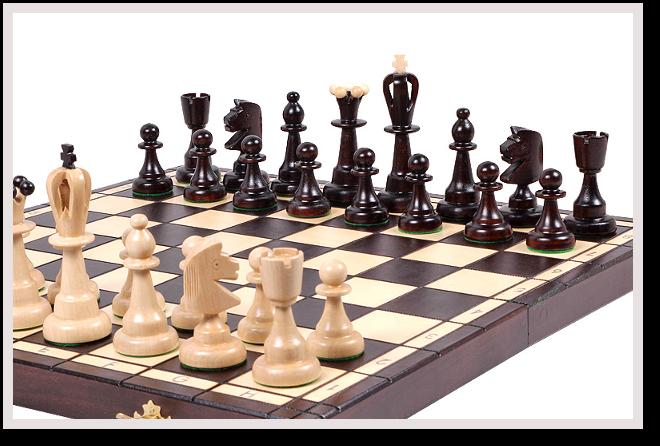 Nasze drewniane szachy amatorskie to idealna propozycja nie tylko dla  początkujących. - Szachy PNG