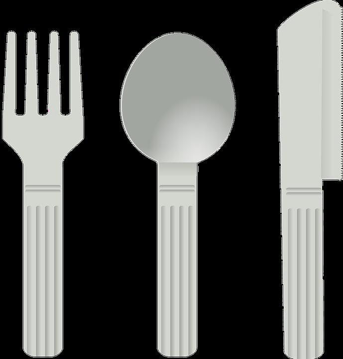 Sztućce, Widelec, Łyżka, Nóż, Danie, Jeść, Narzędzia - Sztucce PNG