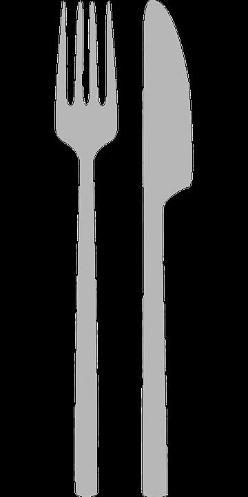 Widelec, Nóż, Jeść, Sztućce, Metalowy Widelec, Metal - Sztucce PNG