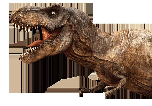 Tyrannosaurus rex with tiny arms - T Rex Dinosaurs PNG