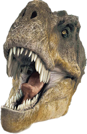 Alternate Text - T Rex Head PNG