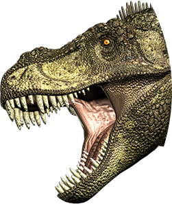 Tyrannosaurus rex Bite - T Rex Head PNG