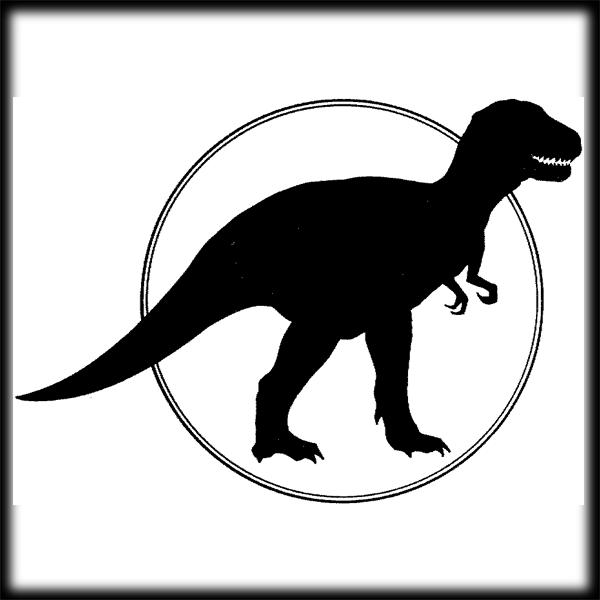 T Rex Clip Art Free - T Rex PNG Black And White