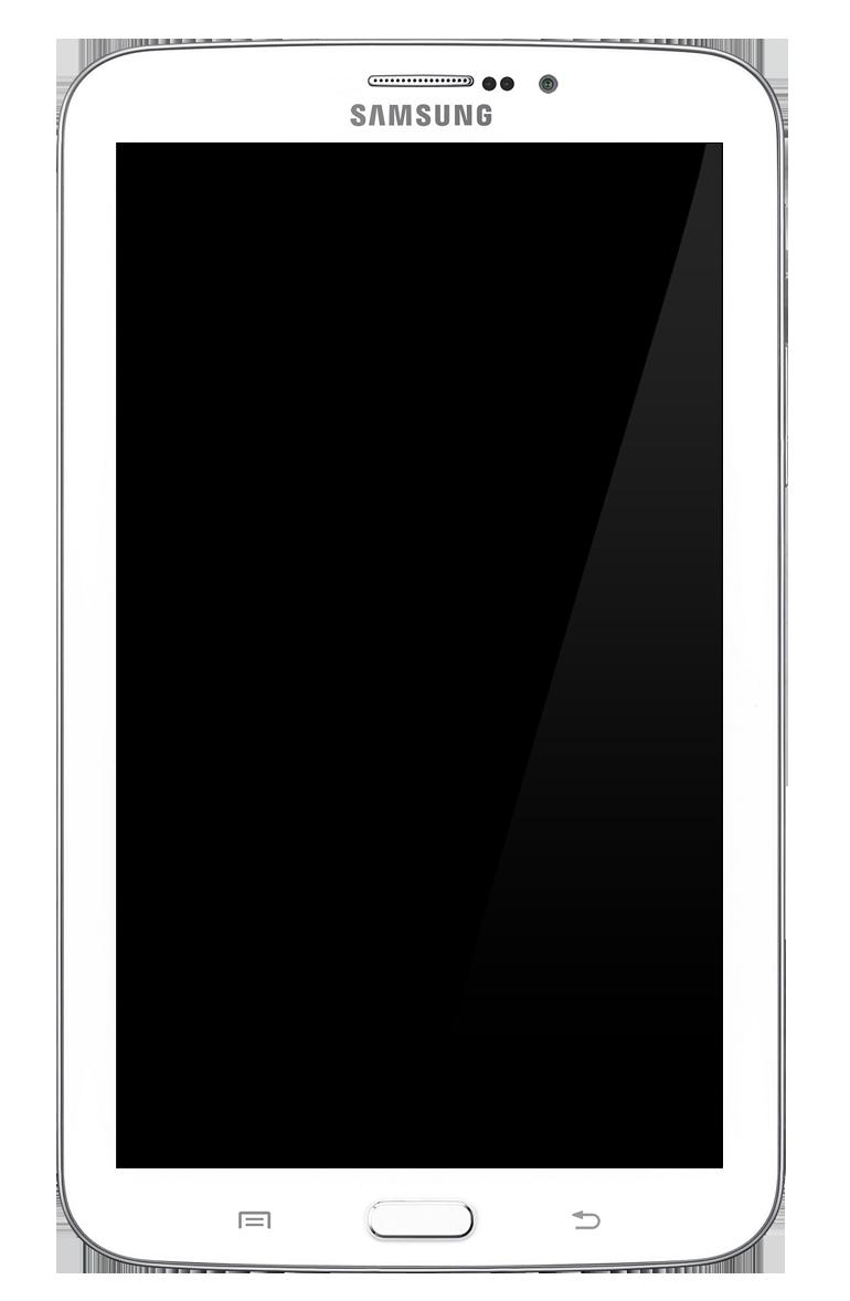 File:Samsung Galaxy Tab 3 7.0.png - Tab PNG