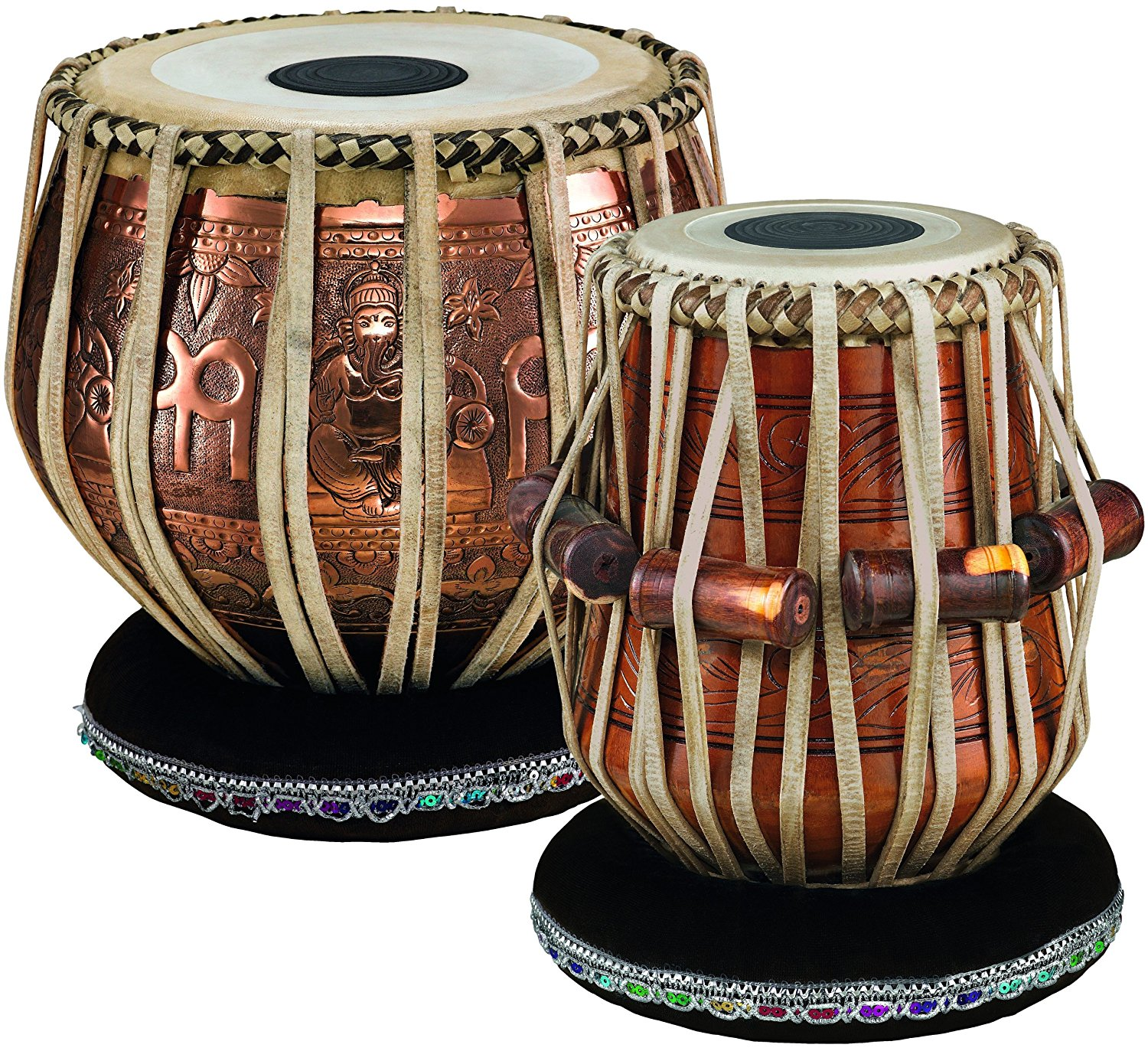 Meinl 9 Inch Bayan And 5 1/2 Inch Dayan Professional Tabla Set:  Amazon.co.uk: Musical Instruments - Tabla HD PNG