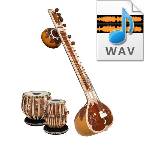 Indian Pure Classical Tabla Tala Loops - High quality 16 Bit, 44.100 kHz  .WAV format - Tabla PNG