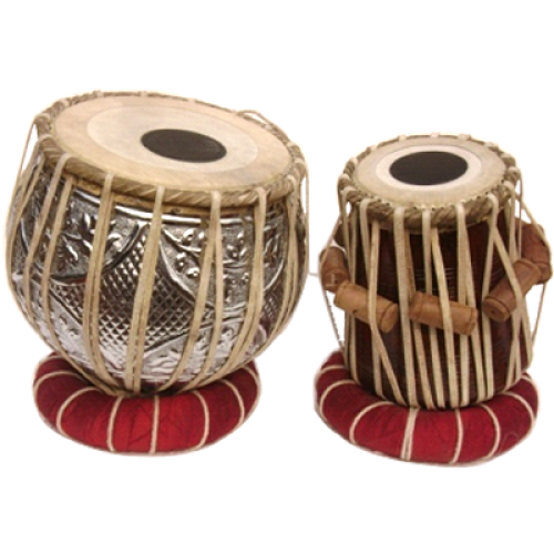 Professional Quality Desiner Copper Tabla Set With Heavy 4 KG copper Bayan - Tabla PNG
