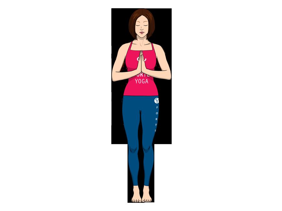 Tadasana Yoga Pose PNG - 60671