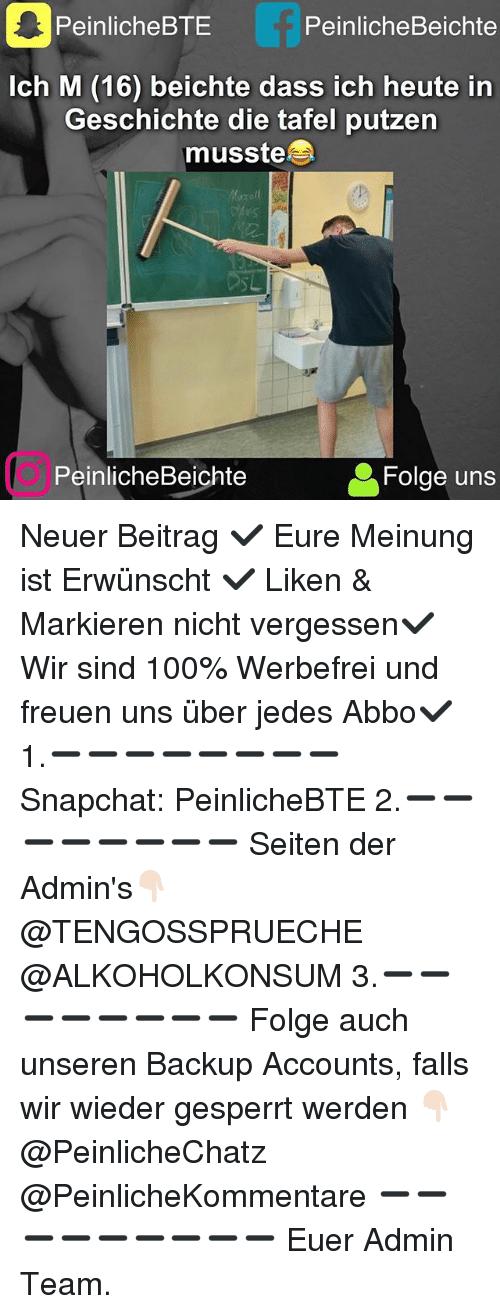 Anaconda, Memes, and Snapchat: PeinlicheBTE Peinliche Beichte Ich M (16)  beichte - Tafel Putzen PNG