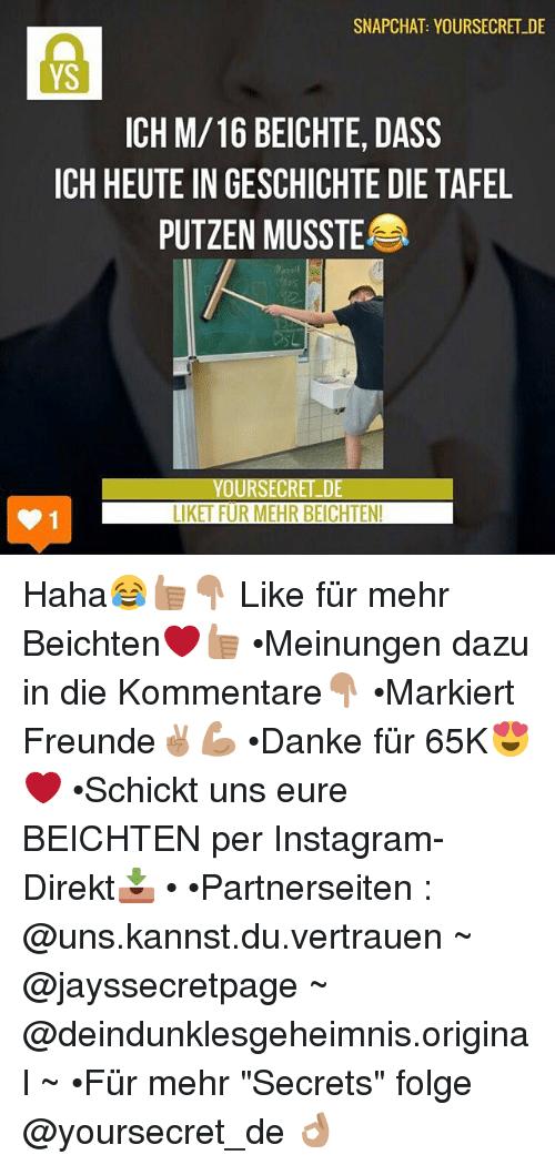 Instagram, Memes, and Snapchat: SNAPCHAT YOURSECRET DE YS ICH M/16 BEICHTE - Tafel Putzen PNG