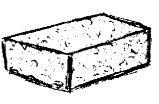 Tafelschwamm clipart  Tafelschwamm PNG Transparent PNG Images. | PlusPNG
