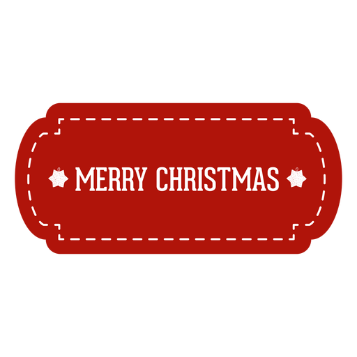 Red christmas tag png - Tag PNG