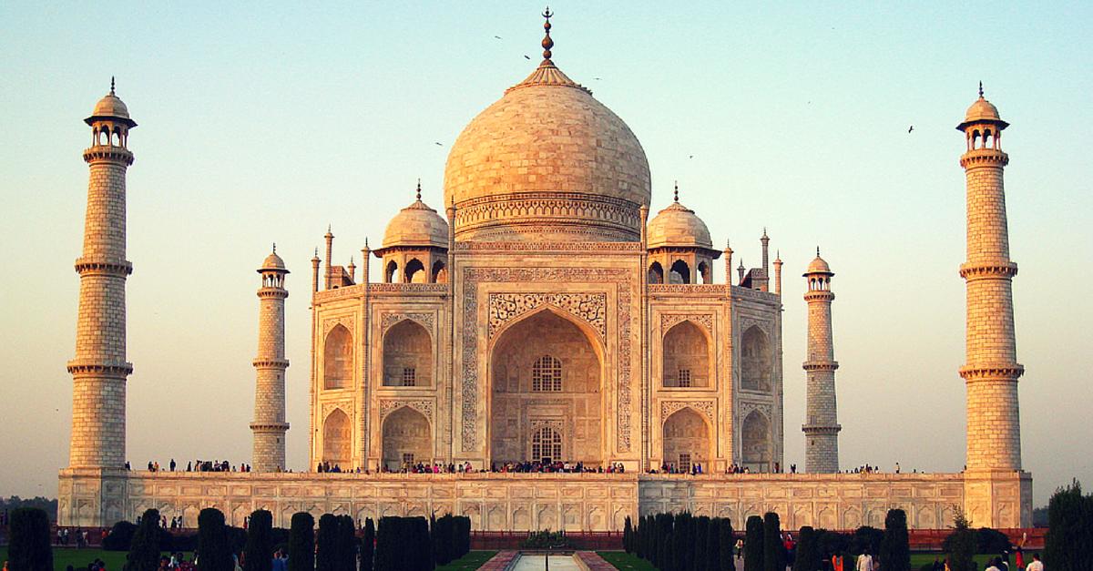 Taj Mahal Entered the World of Social Media. And Totally Rocked It! - The  Better India - Taj Mahal PNG