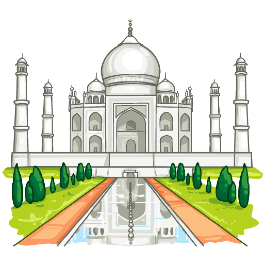 Taj Mahal PNG Photos - Taj Mahal PNG