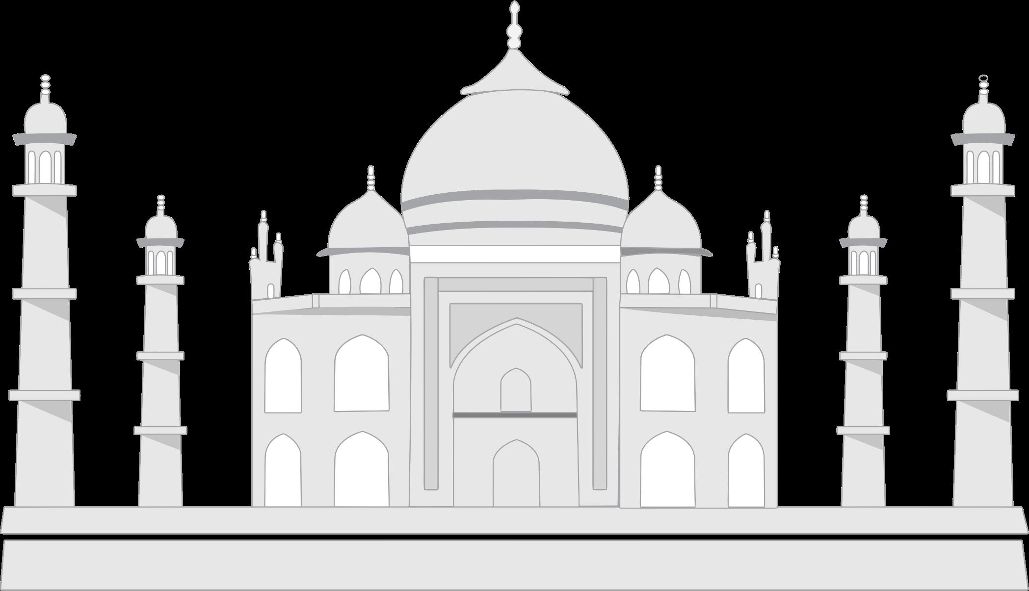 Taj Mahal Transparent Background - Taj Mahal PNG