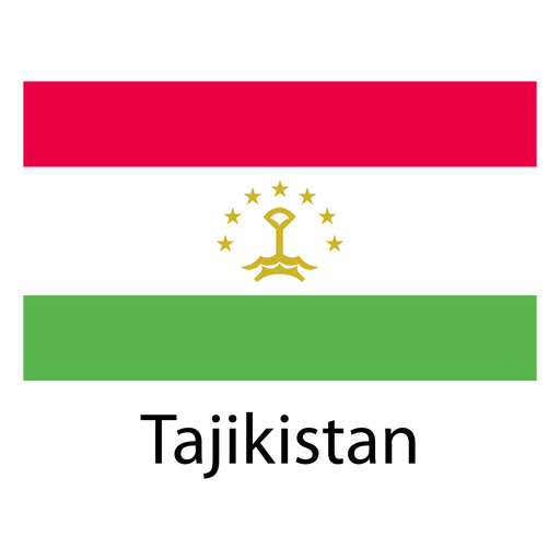 Tajikistan national flag png - Tajikistan PNG