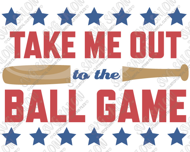 Take Me Out To The Ballgame PNG